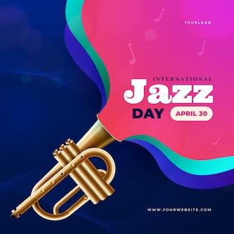 Internationales jazz-tageskonzept