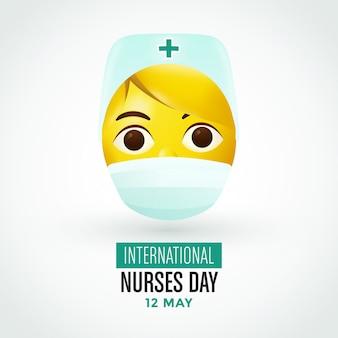 Internationales krankenschwestertagdesign