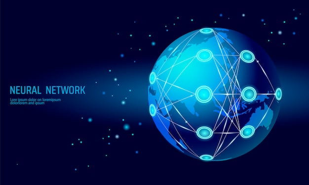 Internationales neuronales netz, globales neuronennetz, kognitives tiefenlernen