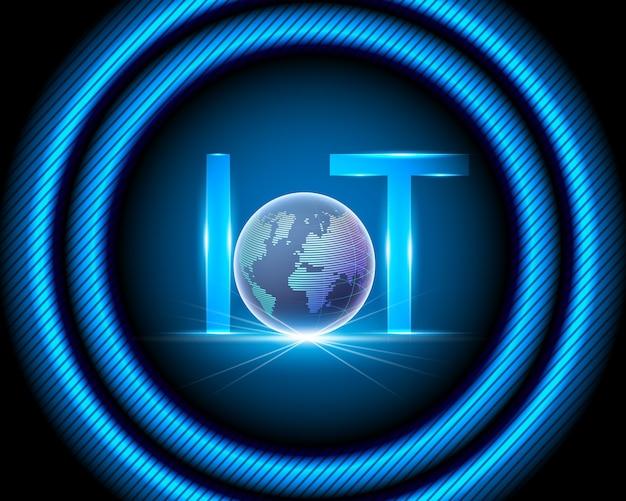 Internet der dinge (iot) technologie