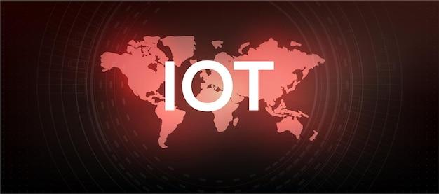 Internet der dinge (iot) und netzwerkkonzept für angeschlossene geräte. digitale netzwerkverbindungen, das konzept der verbindung von geräten mithilfe der iot-technologie. ikt (informations- und kommunikationstechnologie)