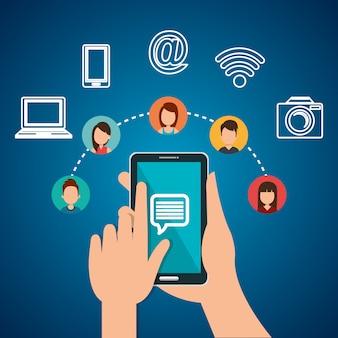 Internet-kommunikationsdesign