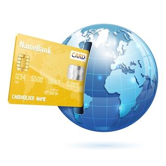 Internet-shopping und elektronische zahlungen