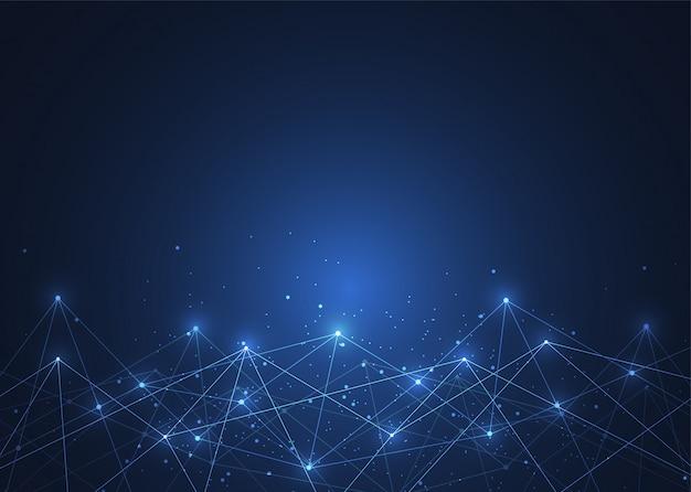 Internetverbindung, abstrakter sinn