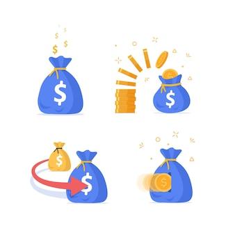 Investieren sie mehr einnahmen aus finanzinvestitionsfonds