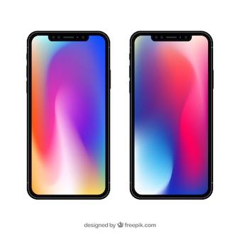 Iphone x mit steigung tapete