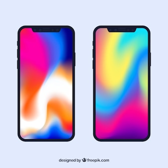Iphone x mit steigung tapete