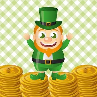 Irish leprechaun set, st. patricks day