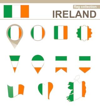 Irland flaggenkollektion, 12 versionen