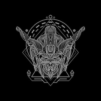 Iron knight - heilige geometrie