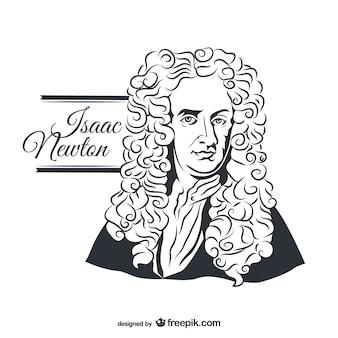 Isaac newton porträt