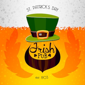 Isish pub poster