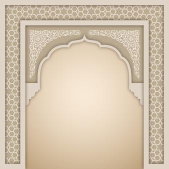 Islamische arch entwurfsvorlage