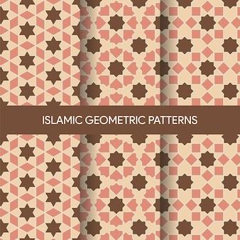 Islamische geometrische muster-sammlung