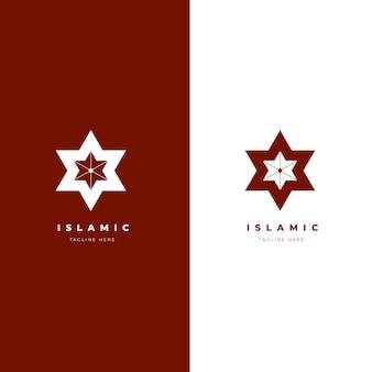 Islamische logo-vorlage