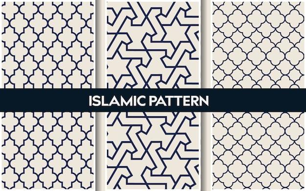 Islamische orientalische muster, nahtlose arabische geometrische muster