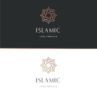 Islamischer logo-stil