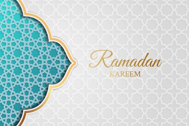 Islamischer ramadan kareem hintergrund