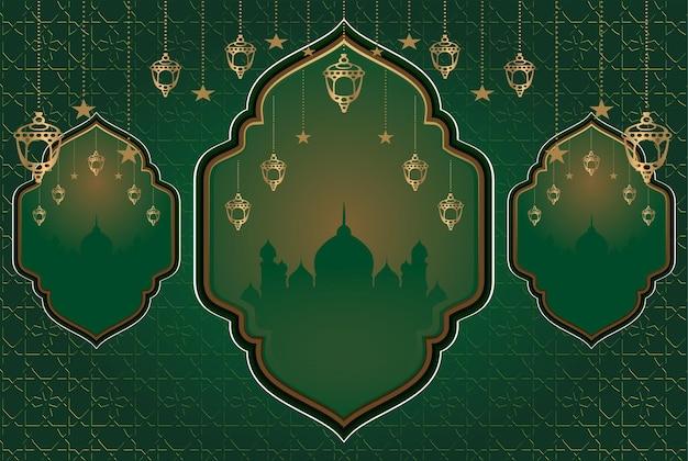Islamischer religiöser hintergrund