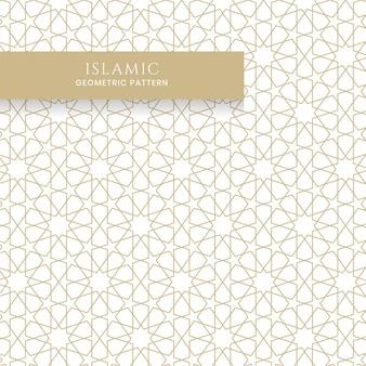 Islamisches arabisches nahtloses geometrisches muster