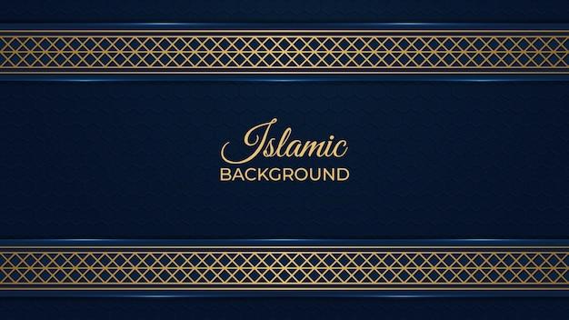 Islamisches dekoratives luxus-hintergrunddesign