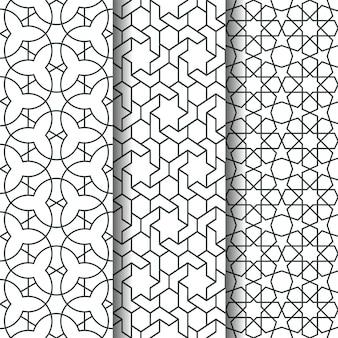 Islamisches geometriemuster