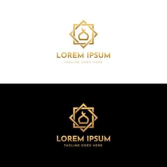 Islamisches logo-design