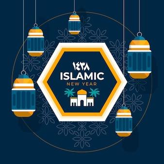 Islamisches neujahrsthema