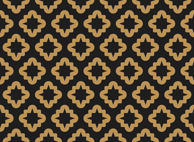 Islamisches orientalisches abstraktes nahtloses muster für ramadan kareem