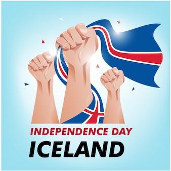 Island unabhängigkeitstag