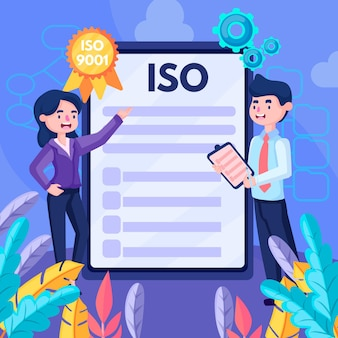 Iso-zertifizierungskonzept