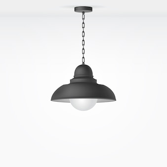 Isolierte lampe