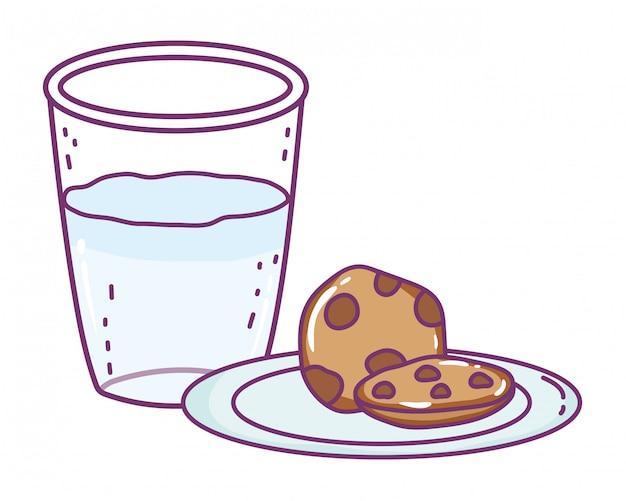 Isolierte milchglas