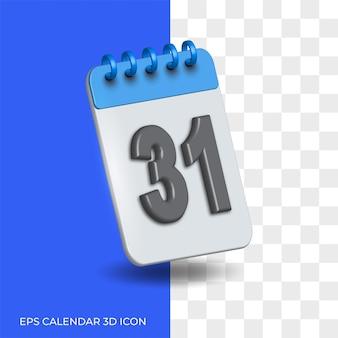 Isoliertes hintergrund transparentes kalendersymbol
