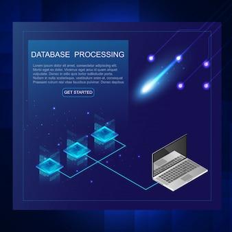 Isometrie des server- und datenverarbeitungskonzeptes