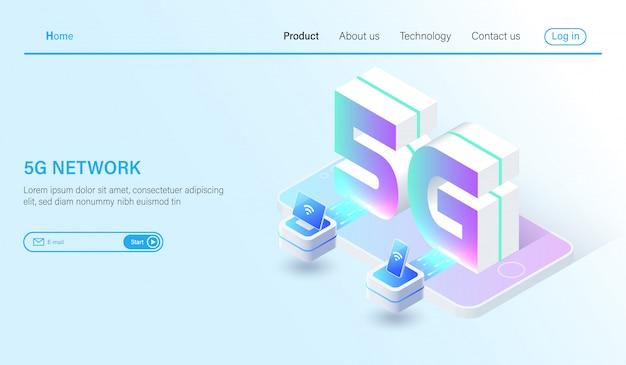 Isometrische 5g-mobilfunksysteme und 5g-internet