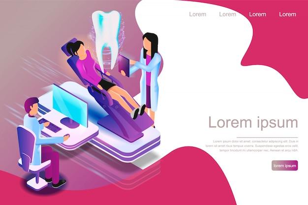 Isometrische augmented reality für die zahnärztliche diagnose