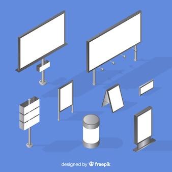 Isometrische billboard-auflistung