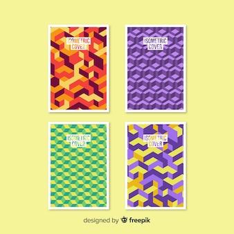 Isometrische broschüre pack