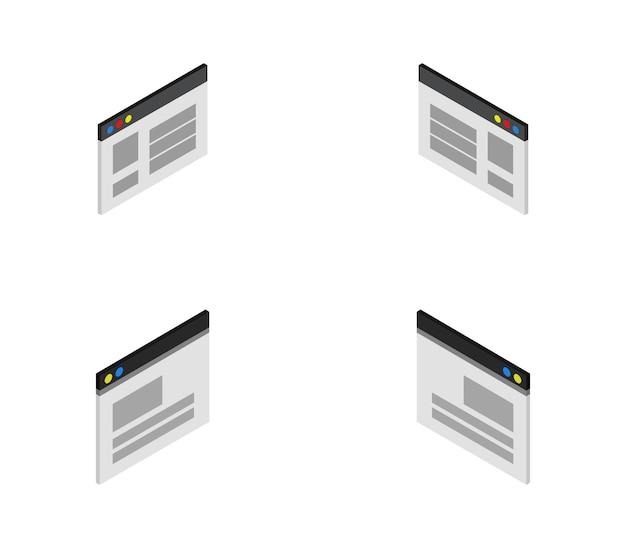 Isometrische browser eingestellt