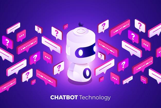 Isometrische chatbot-technologie