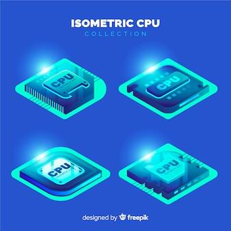 Isometrische CPU-Sammlung