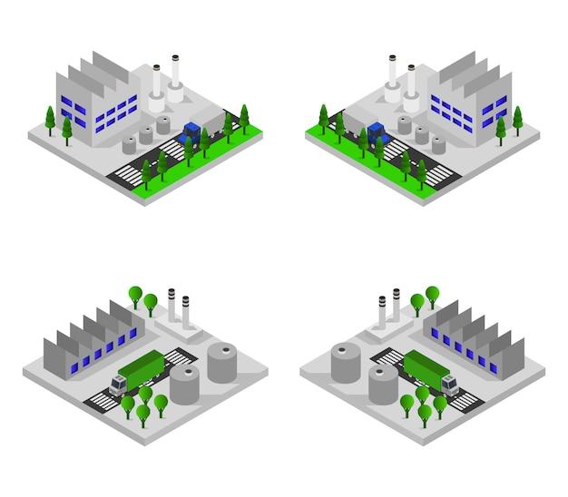 Isometrische industrien
