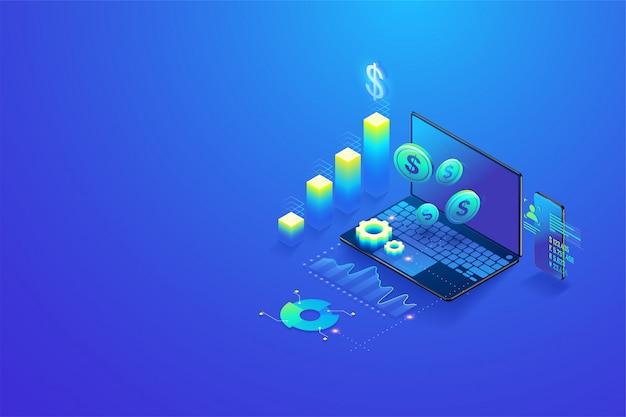 Isometrische investition und virtuelle finanzierung