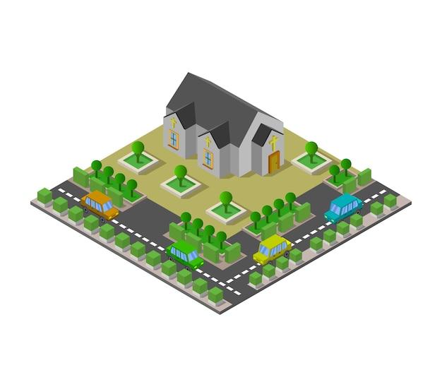 Isometrische kirche