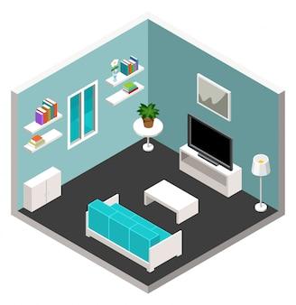 Isometrische möbel