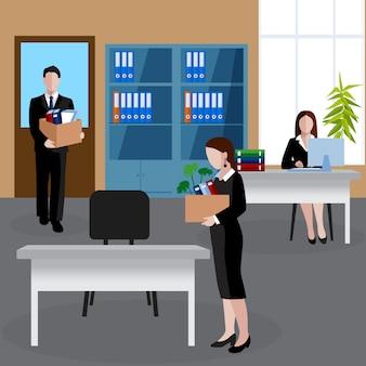 Isometrische personalabteilung