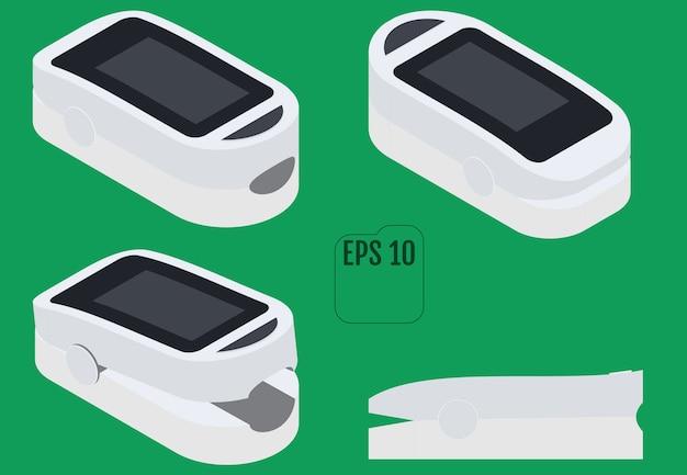 Isometrische pulsoximetrie, pulsoximeter fingerspitze. die pulsoximetrie ist eine nichtinvasive methode zur überwachung der sauerstoffsättigung einer person.