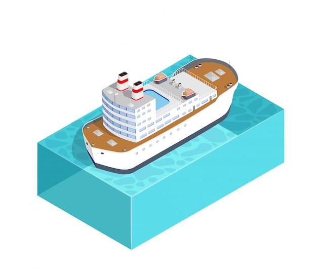 Isometrische schiffsladung