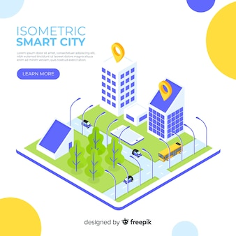 Isometrische smart city